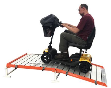 wheelchair platform portable