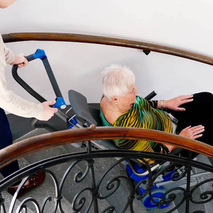 Engelli Merdiven Taşıma ve İletim Sistemi