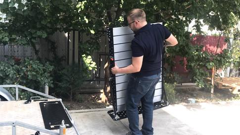 wheelchair van ramp detachable