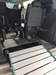 disabled access on van