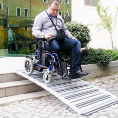 disabled ramp step