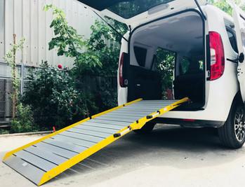 wheelchair van access ramp