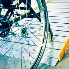 disabled ramp length