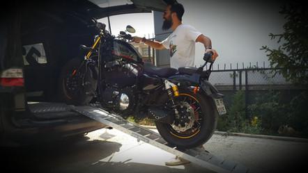 motorcycle loading ramp aluminum