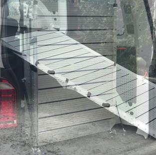engelli araç rampası kullanımı