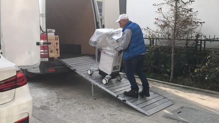 portable van ramp load