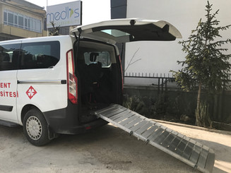 portable van ramp loading