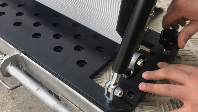 wheelchair van ramp install