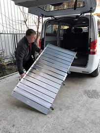 portable van ramp fold