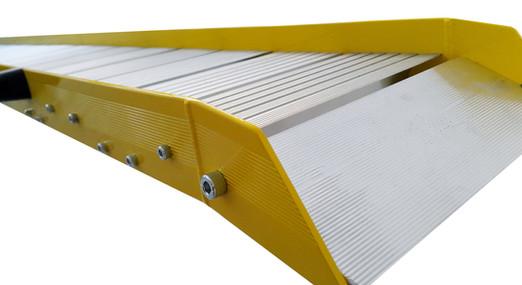 aluminum ramp folding