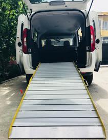 wheelchair van ramp accessible
