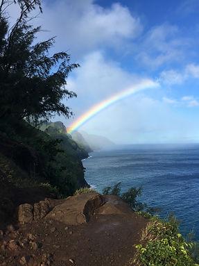 Rainbow Napali Coast