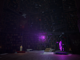Forbidding Library