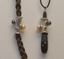 Silver Dread Ring Adornment
