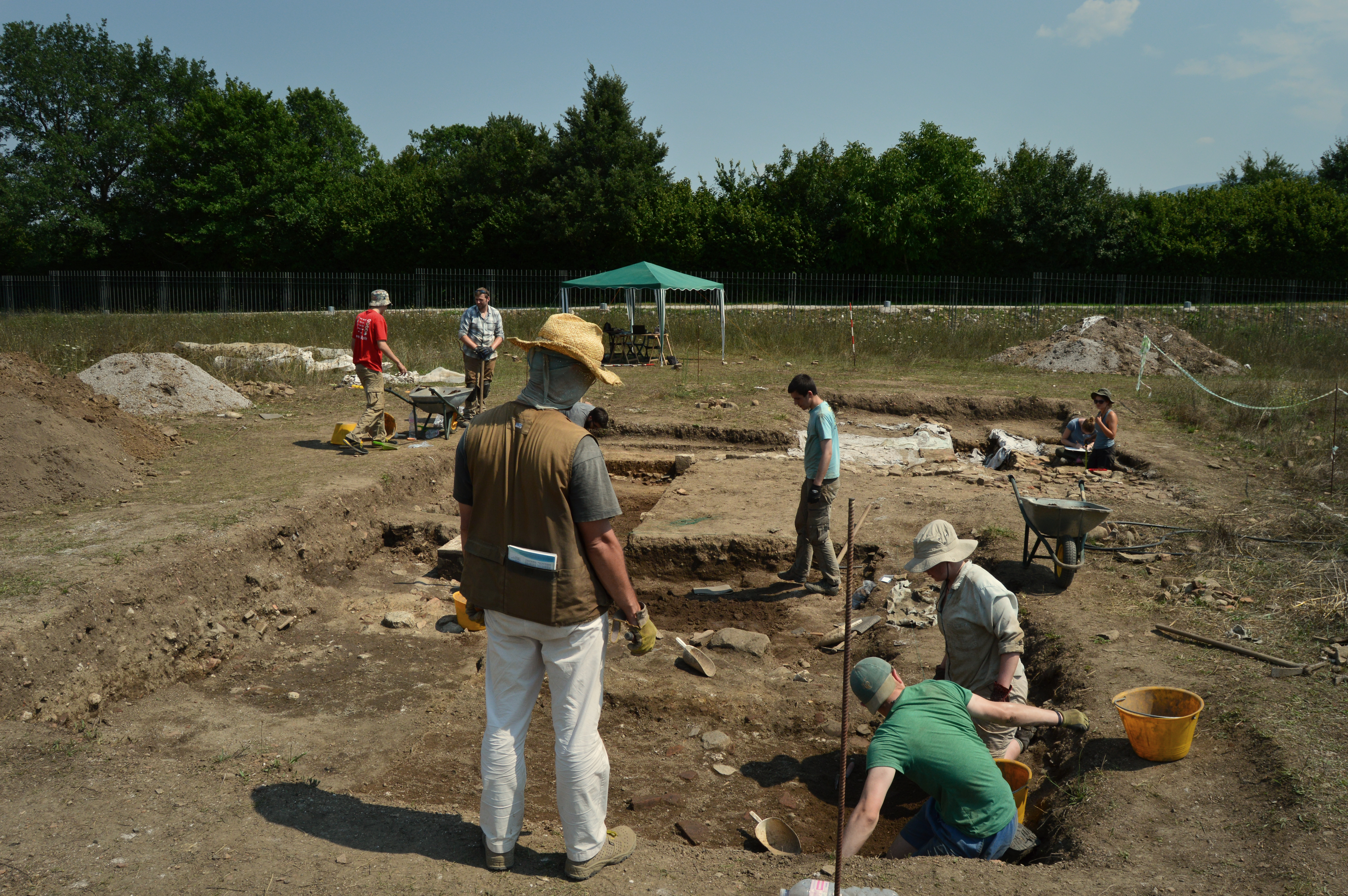 Excavation, 2015