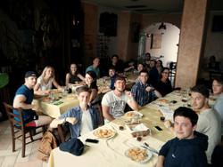 Sunday Lunch at La Locanda del Sole