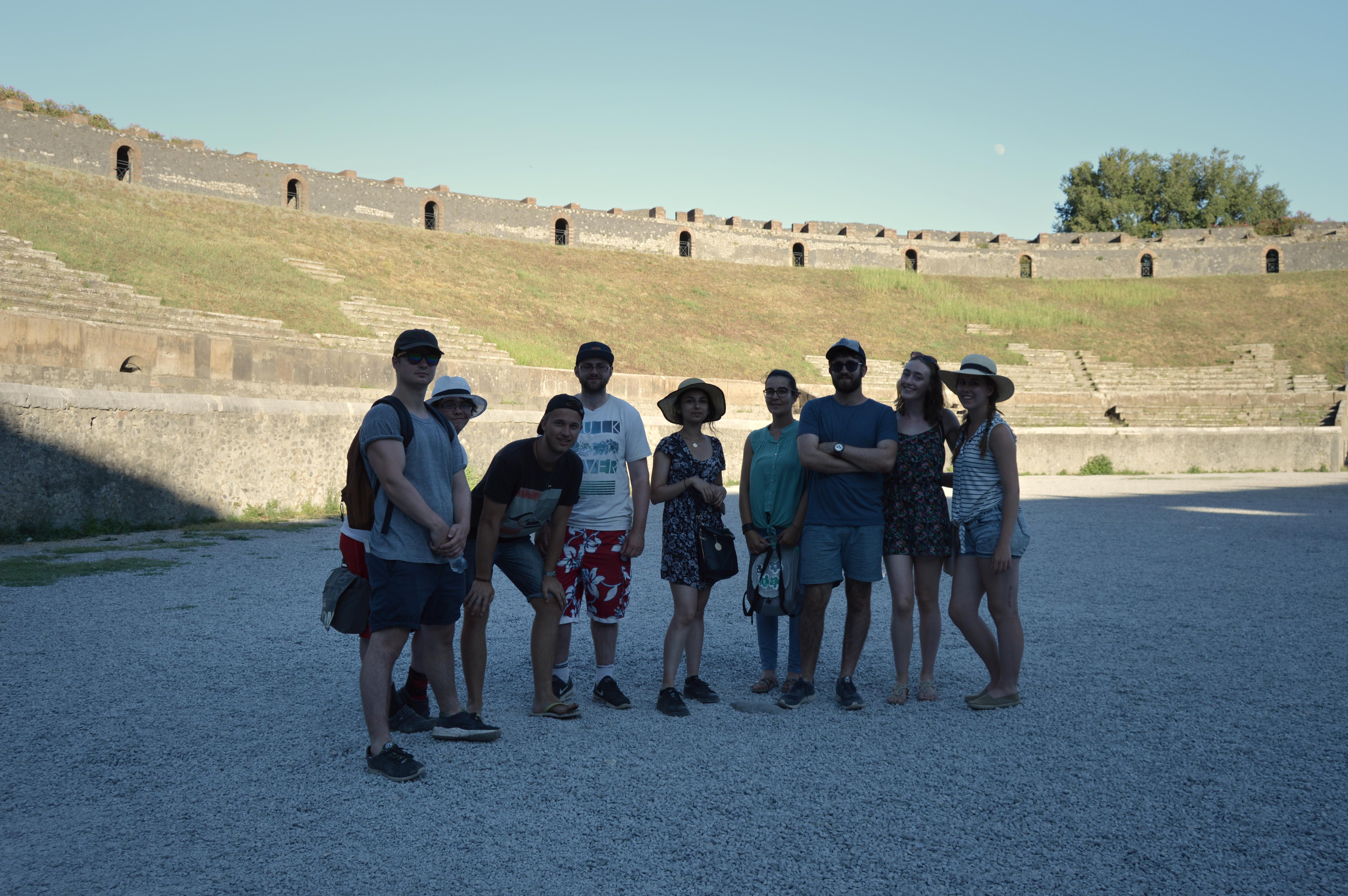 Theatre at Pompeii, 2016
