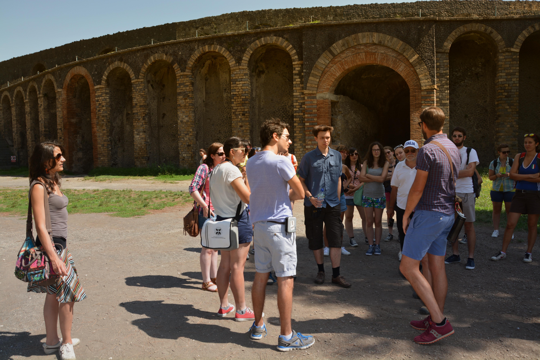 Pompeii Tour, 2014