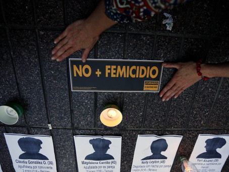 Día Nacional contra el Femicidio: anualmente mueren más de 50 mujeres por la violencia machista
