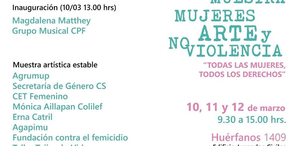 """2da Muestra """"Mujeres, Arte y No violencia"""""""