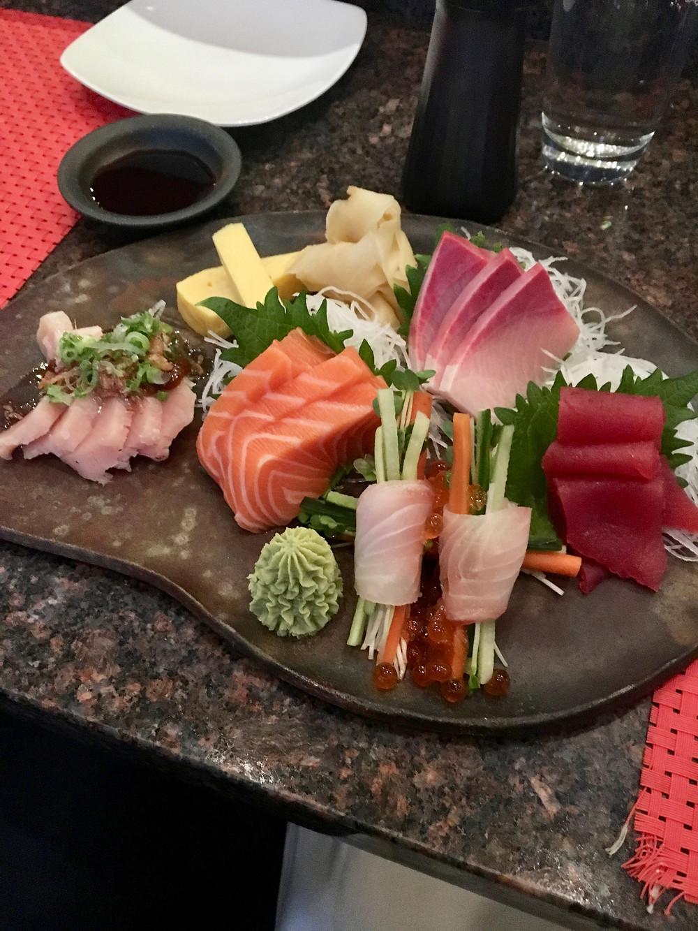 Douzo Chef Sashimi