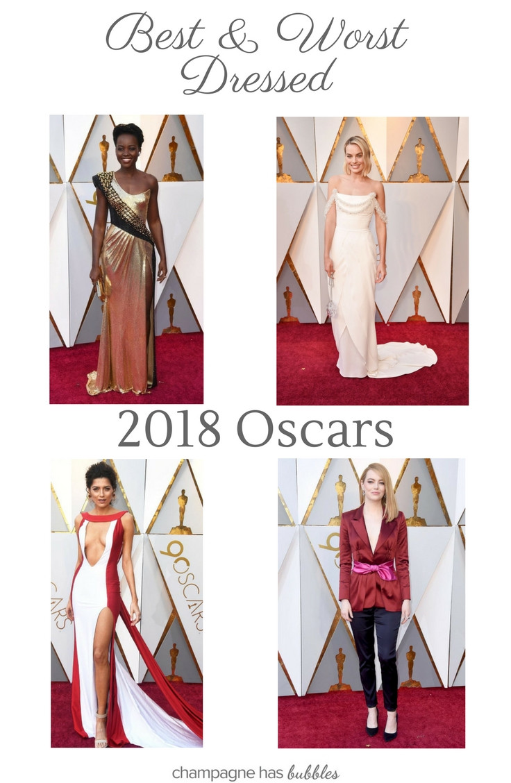 Best and Worst Dressed of the 2018 Oscars