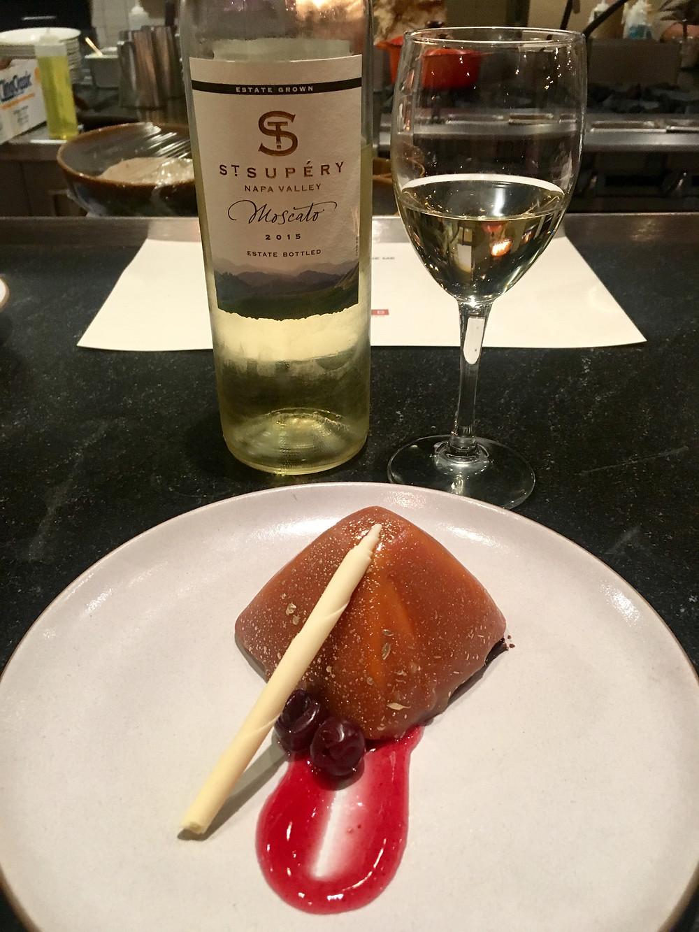 wine me, dine me dessert course 4