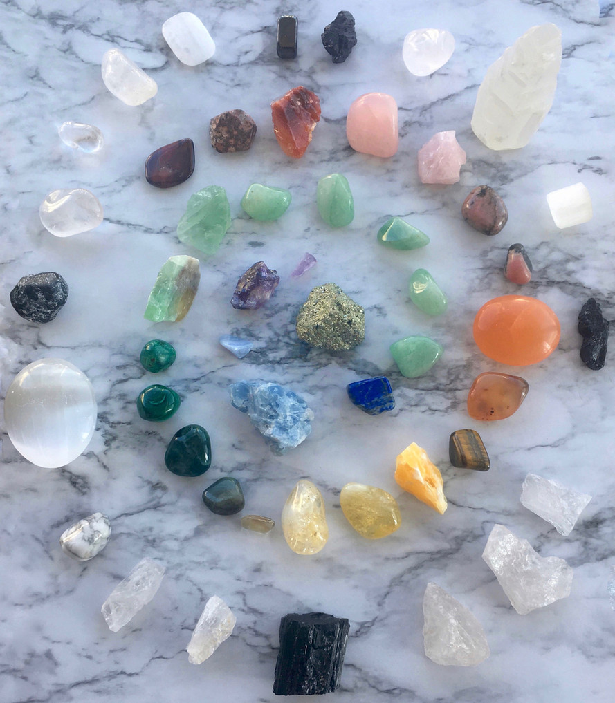 Time to Recharge--All About Crystals & How to Charge Them