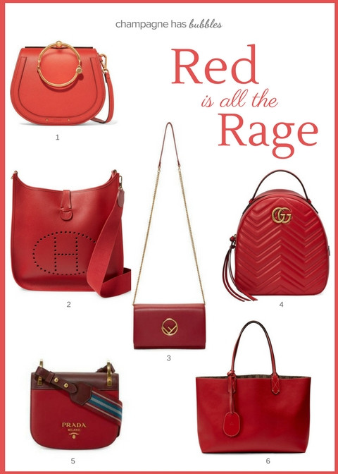 Must Have Accessory: A Red Handbag