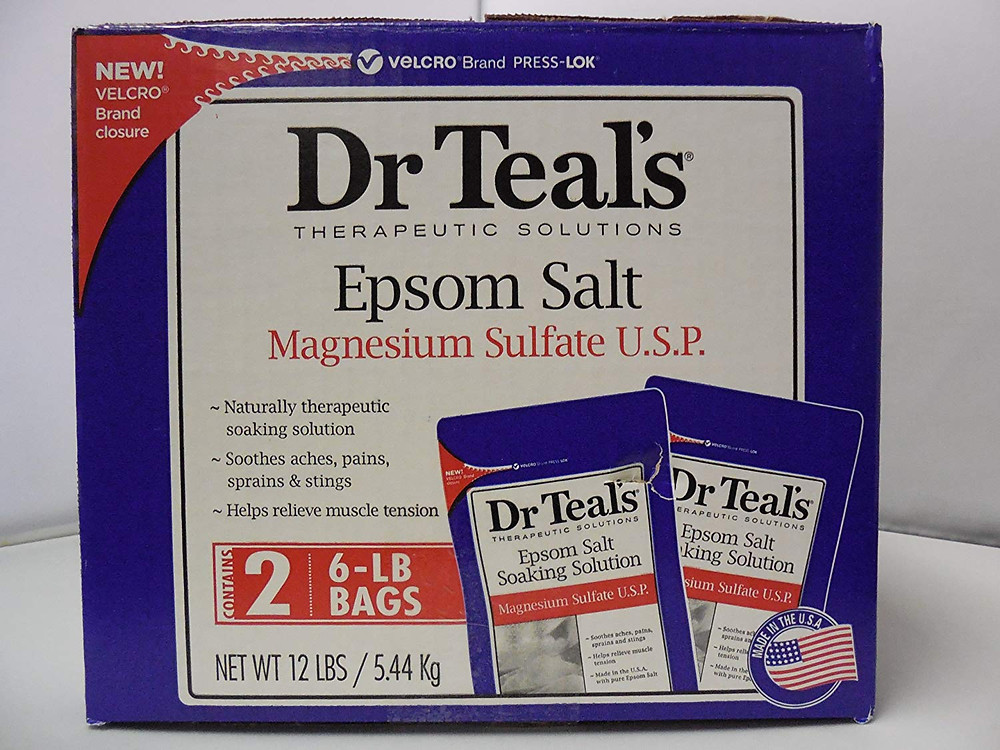 Costco dr teal's epsom salt