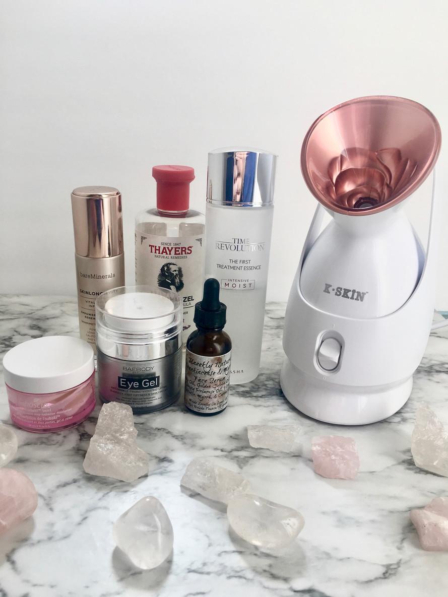 Facial Steaming Benefits