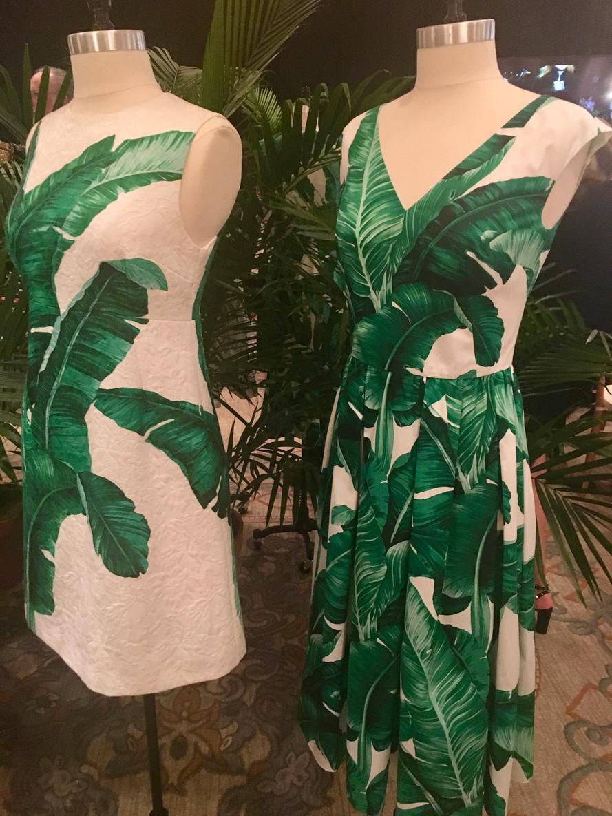 B-A-N-A-N-A-S for Banana Leaf Print