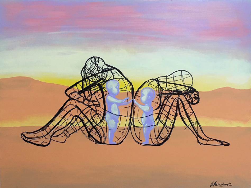 Sculpture from Burning Man