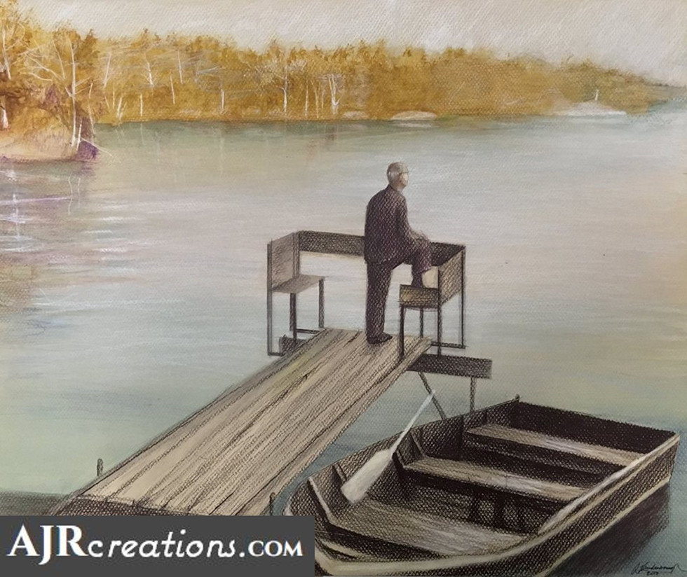 Patriarch at the Lake