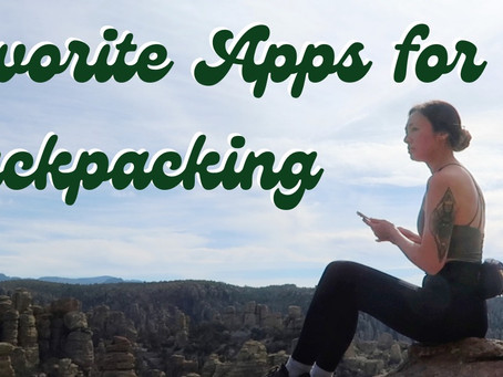 13 Apps to Improve Your Backpacking Trips | maps, safety, plants, constellations