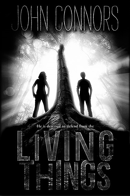 Living Things first draft of cover