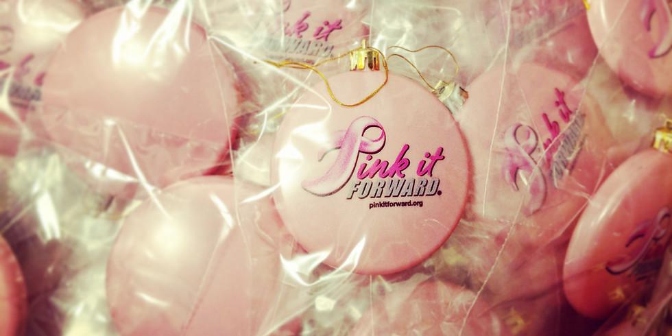 Pink It Forward Ornament Giveaway