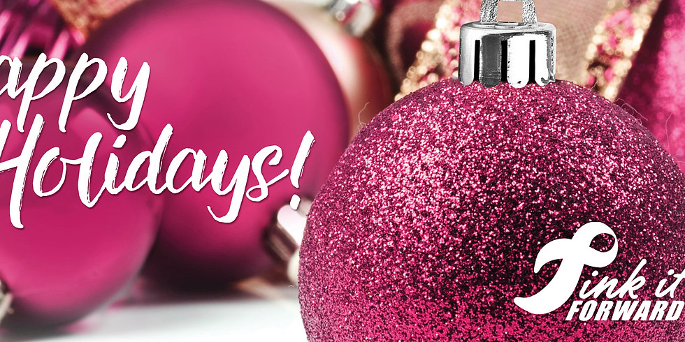 Pink It Forward Orgnament Giveaway