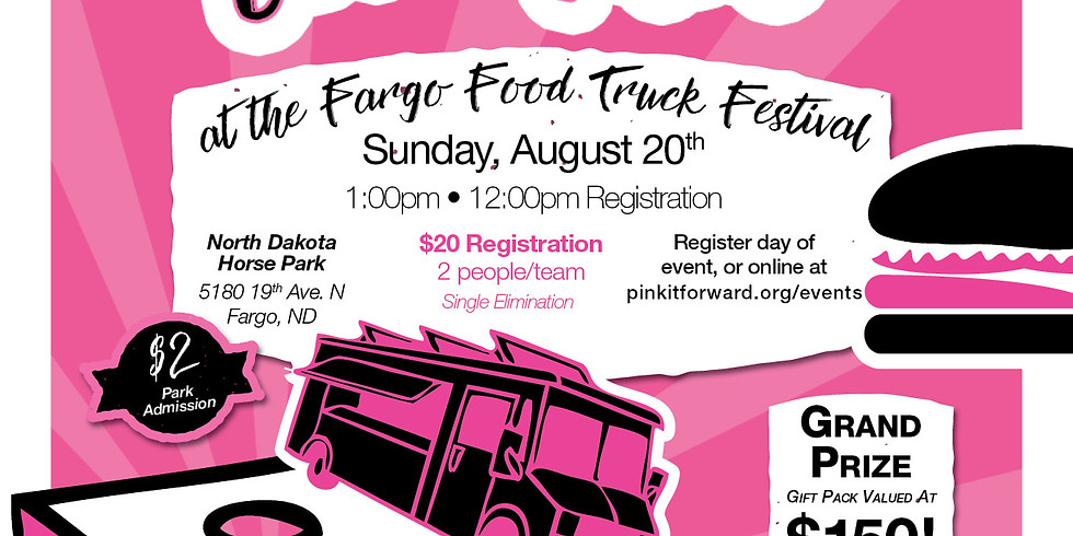 Tossing for Tatas at the Food Truck Festival
