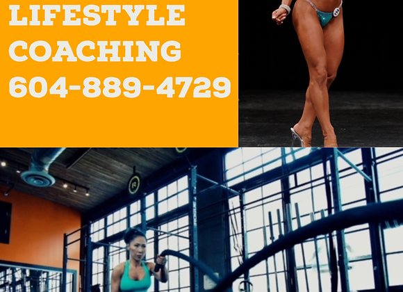 12 WEEKS LIFESTYLE COACHING PACKAGE