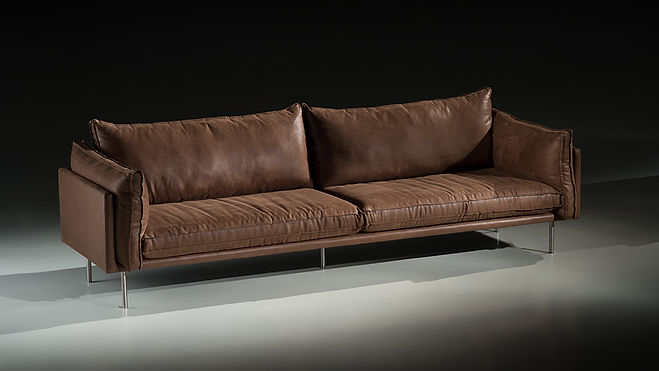 Sofa Loft couro