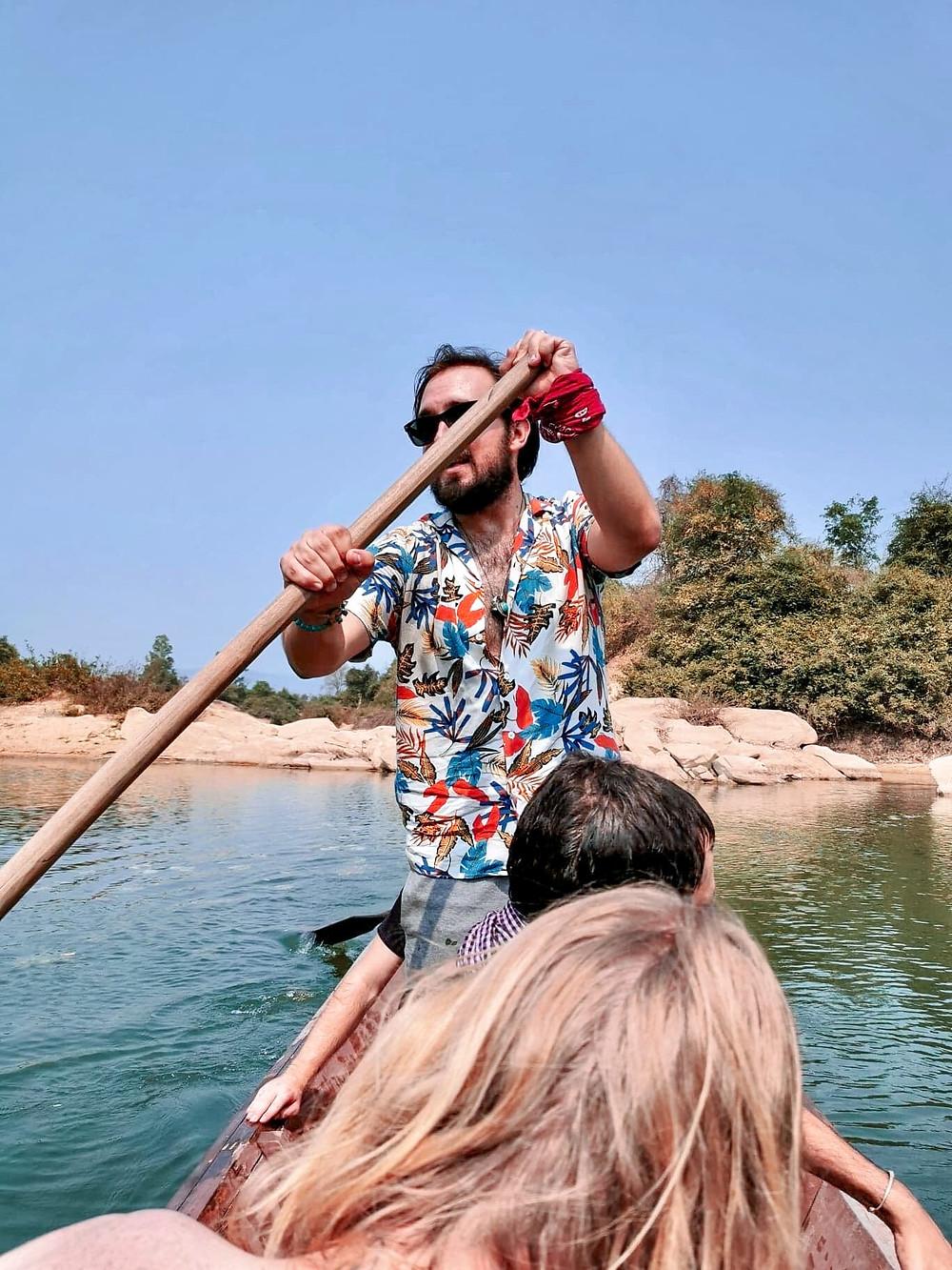 Peeplo talks -a day on the Mekong in Laos - Bawra Musafir