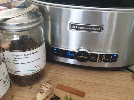 Ayurvedic Masala Chai Slow Cooker Method