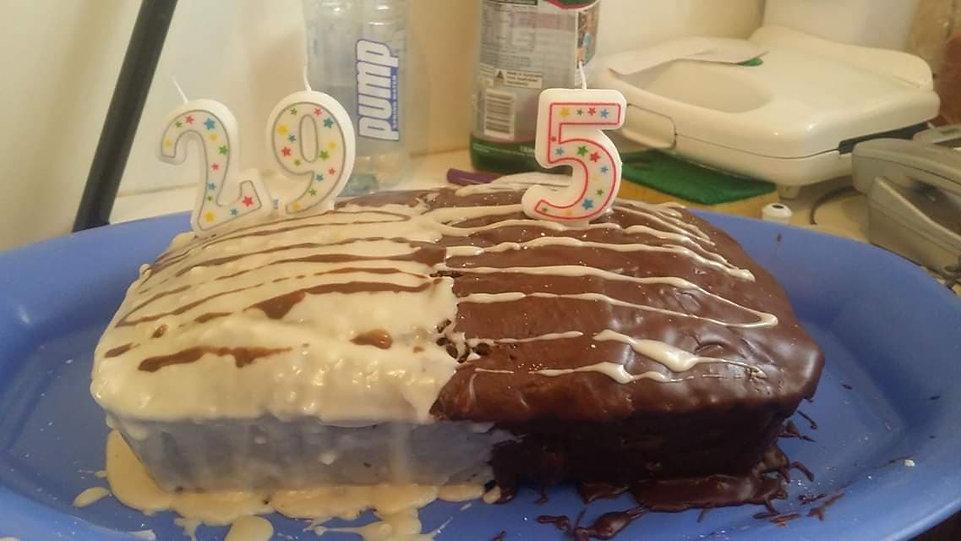 Egg free cake, dairy free cake, allergy friendly cooking, canberra postnatal doula, gold coast postnatal doula