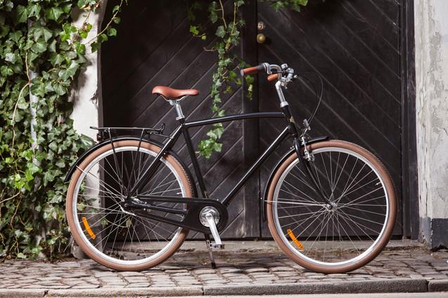 Sort cykel