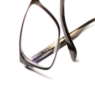 Close up af brille