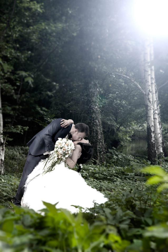 Nygifte i det grønne