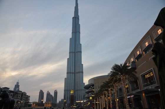 What do the Burj Khalifa and strong brands have in common?