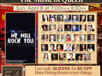 54 Sings We Will Rock You: The Music of Queen