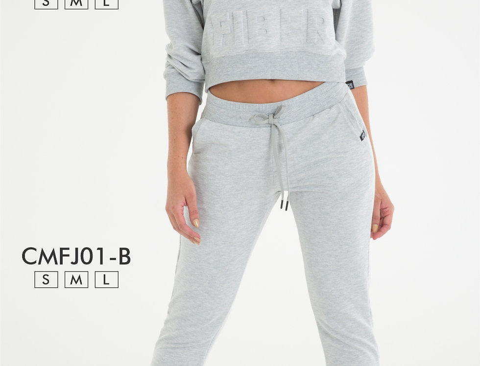 JOGGER DEPORTIVO GRIS - GOES 01-B